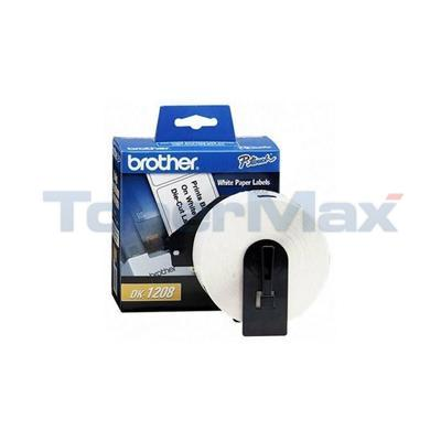 BROTHER P-TOUCH PAPER ADDRESS LABELS 1-1/2IN